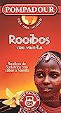 Pompadour Té del Mundo Rooibos Vainilla - Pack de 5 (100 bolsitas)