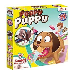 KidActive 225PUP Big IT UP-Poopy Puppy-Games Niños Pueden Entrar, Marrón
