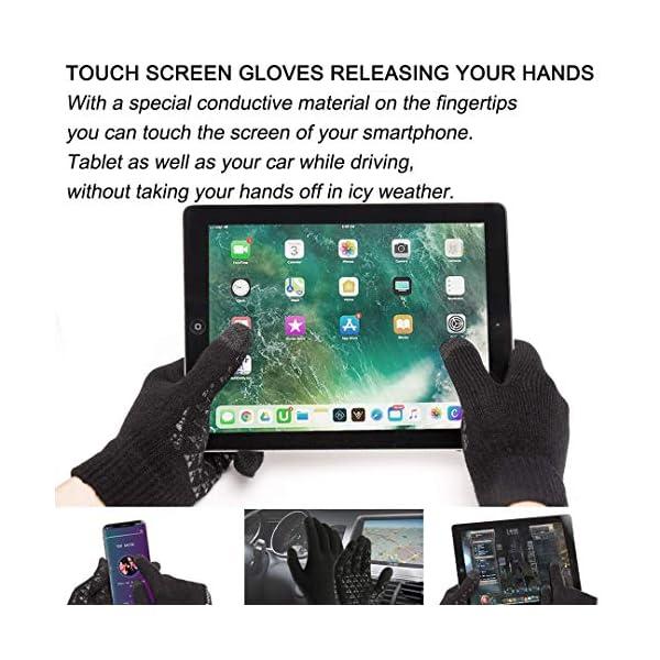 abbigliamento uomo guanti donna invernali touch screen caldi accessori uomo e donna supporto smartphone e tablet idee… 13 spesavip