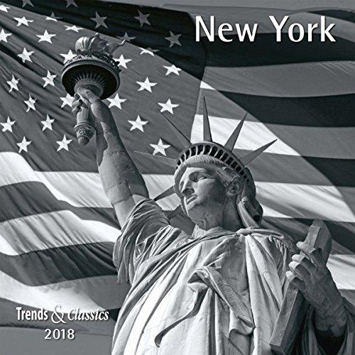Preisvergleich Produktbild New York 2018 - Broschürenkalender - Wandkalender - mit herausnehmbarem Poster - Format 30 x 30 cm