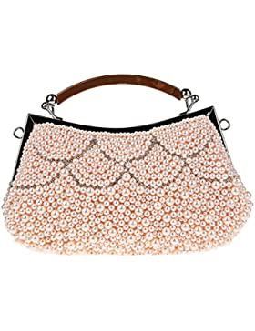 KAXIDY Elegant Damenhandtaschen Clutch Abendtasche Handtasche