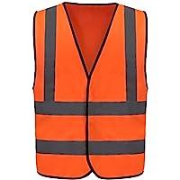12 Colors Optional Hi Vis Jacket high vis Reflective Safety Vest High Visibility hi viz vis Executive Waistcoat(XS-8XL)