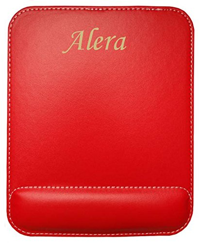 personalised-leatherette-mouse-pad-with-text-alera-first-name-surname-nickname