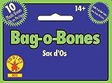 Rubie's Offizielle Bag O Bones Caveman Witch Doctor-Zubehör, Einheitsgröße, Weiß, 14 Jahre +