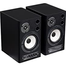 Behringer MS40 Set coppia casse monitor attive da studio con commutatore D/A (2 x 20 Watt, Bass Reflex, RCA)