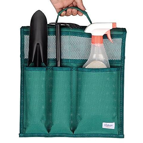 Art of Beauty Garten Kneeler Werkzeugtasche Beutel Spezial Designed Multiple Functional für beide Standard und Wide Kneeler Stuhl, Haushalt Bad Waschküche Organizer Storage (Grün)