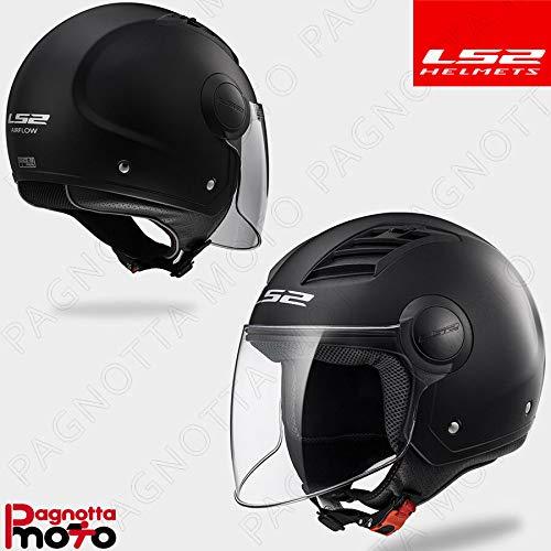 Casco moto  LS2 Airflow colore nero taglia XXL
