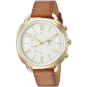 Fossil Hybrid Smartwatch – Q Accomplice Sand Leather FTW1201