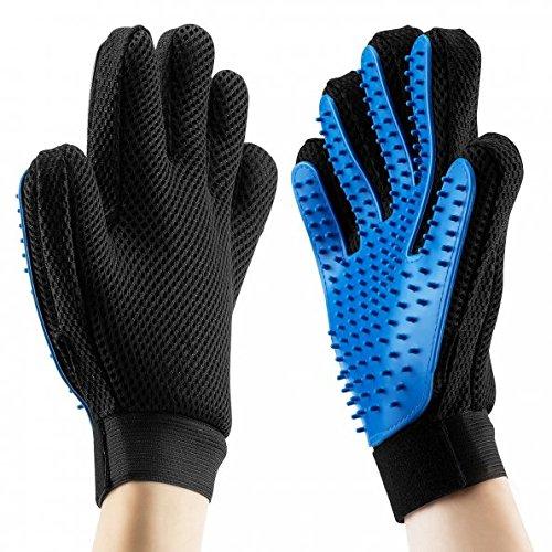 omorc 26-020-611x 2, gants de massage pour chiens/chats, matériau respirant, Lot de 2