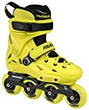 Powerslide Imperial Junior Verstellbare Urban Inline Skates Größe 34-36 Gelb Gelb, 34-36