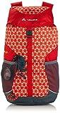 Vaude Unisex - Kinder Rucksack Puck 10, red/mandarine print, 10 Liter, 15002