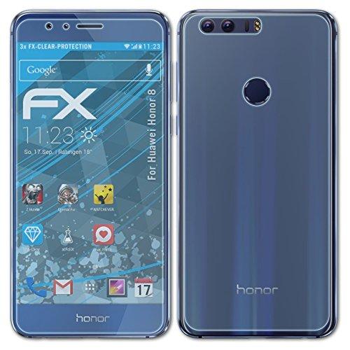 Displayschutzfolien ZuverläSsig Atfolix 3x Schutzfolie Für Huawei Honor 8x Max Fx-antireflex-hd