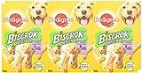 Pedigree Biscrok Hundesnacks 3 köstlichen Geschmacksrichtungen, 6 Packungen (6 x 500 g) - 2