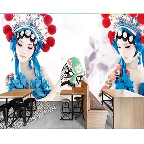 Pbbzl Restaurant Wallpaper Customized 3D Hotel Wandbild Chinesischen Stil Drama Shiling Kostüm Dekoration Restaurant - Fernseh Kostüm