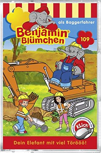 Folge 109: Benjamin als Baggerfahrer [MC] [Musikkassette]