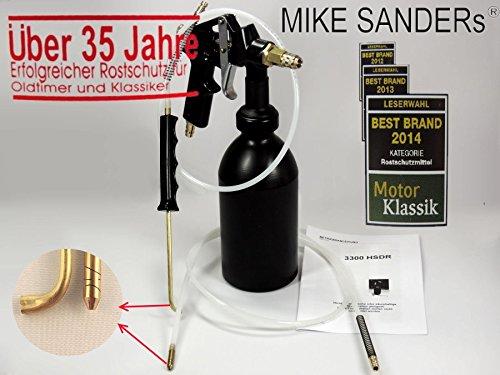 Preisvergleich Produktbild Vaupel Druckbecherpistole 3300 HSDR Mike Sanders + 2 Sonden + gratis Abdeckfolie