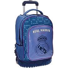 Real Madrid 5632951 Champions Equipaje Infantil, 50 cm, 33.6 Litros, Multicolor