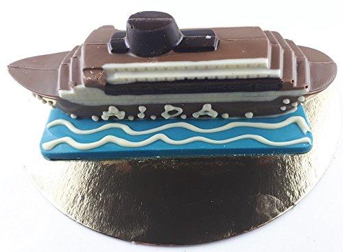 Preisvergleich Produktbild 09 021020 Schokoladen ,  Aida,  Schiff,  auf Meer Platte,  ZARTBITTER oder VOLLMILCH,  ca. 120 gr. beschriftet,  Torten,  Deko,  Hafen,  Wasser,  Geschenk,  Urlaubsreise