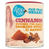 My review of Lucy Bee Organic Fair Trade Cinnamon Powder 125g (Pack of 1)