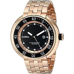 Red Line RL-50039-RG-11 - Reloj para hombres, correa de acero inoxidable color oro rosa