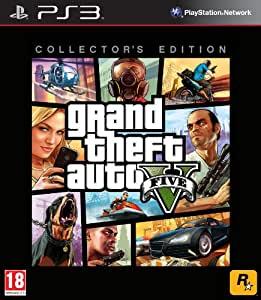 Grand Theft Auto V Collector's Edition (PS3): Amazon.co.uk