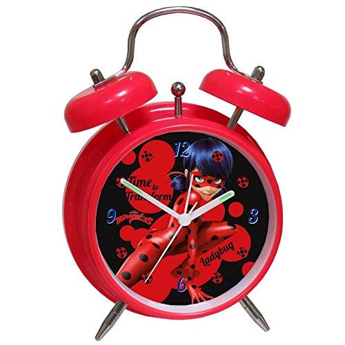 Wecker Glocken 18 x 12 cm von Lady Bug (2/48) (Relojes Juegos De)