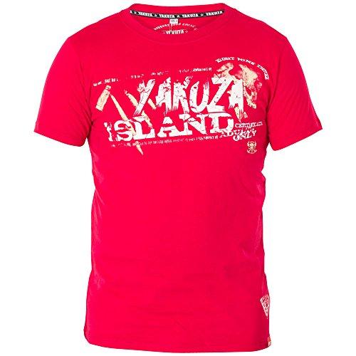 Yakuza T-Shirt TSB-413 Rot Rot