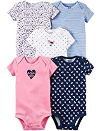 Carter's Mix Pack Bodysuits for Baby Girl