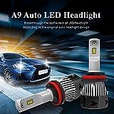 ZHITEYOU-Paar-Autoteil-Beleuchtungs-Nebel-Licht 56W / Set 5200LM DC12V Imprägniern Hallo / Abblendlicht H4 H13 9004 9007 Führte Hohe Geführte Auto-Birnen,H1