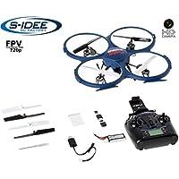 s-idee® 01607 Quadrocopter Udi U818A Wifi HD KAMERA WIFI 4.5 Kanal 2.4 Ghz Drohne mit Gyroscope Technik DROHNE MIT WIFI FPV Drone HD Kamera One Key Return Coming Home Funktion