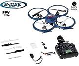 s-idee® S-Idea 01607cuadricóptero UDI U818A WiFi HD Cámara WiFi 4.5Canales 2.4GHz con Tecnología de giroscopio dron UAV con WiFi FPV dron Cámara HD, con Función de Vuelta a casa