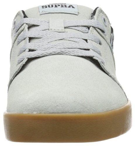 Supra STACKS II S45111 Unisex-Erwachsene Sneaker Grau (GREY - GUM GGM)