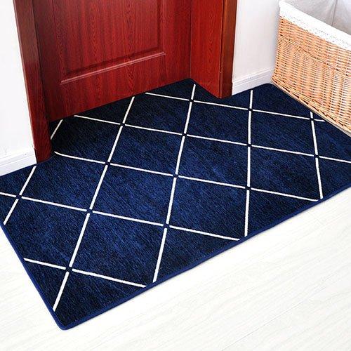GRENSS Der USA Eingang in die Tür des saugkissen Anti-Rutsch-Pad Foot Pad als Sie das Wohnzimmer Schlafzimmer Teppich eingeben, benutzerdefinierte Quadrat 120 x 120 cm, minimalistischen Format Marine Square Format Matte