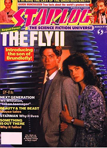 Starlog Magazine The Sci Fi Comics: March 1989 (English Edition)