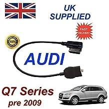 AUDI Q7 Series Pre MY 2009 generación 2 AMI MMI cable de Audio para iPhone 5, 5c 5s 6 y 6 Plus funciona con 8 pin conexión y AUX 3,5 mm enchufe por cable cablesnthings