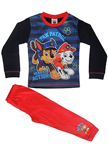 Boys Paw Patrol Pyjamas PJs Set Cotton Ages 18 months to 5 Years Old