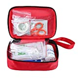 Complete First Aid Kit, Aolvo Professional Mini Survival Kit Emergency Medical Trauma Bag