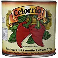 Celorrio 13-13013 Pimiento Piquillo Entero 80-100 Extra Lata Peru - 3 kg