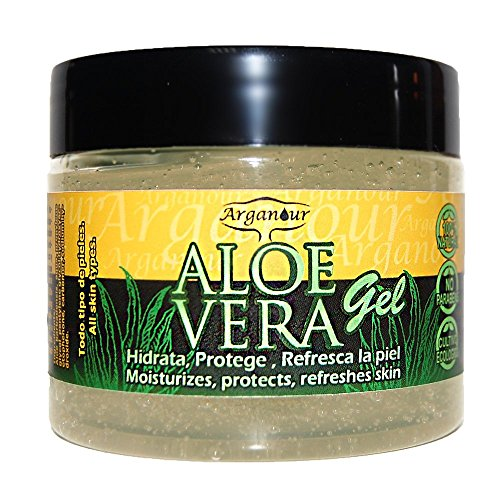 Arganour Gel Aloe Vera 100% Natural Senza Parabeni 150 ml