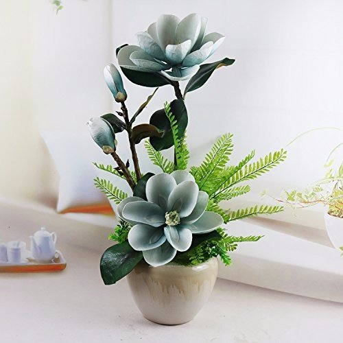 Wohnzimmer Schwingen (MEILI FLOWER Emulation flower Orchid Suite Wohnzimmer mit Topfpflanzen geschmückt. Blüte Schwingen in der TV-schrank Wohnzimmer Möbel Kunststoff getrocknete Blume)