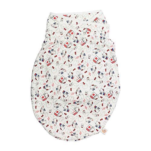 Ergobaby Pucksack Baby 0-3 Monate Baumwolle, Hello Kitty - Kopf in den Wolken Puck-Schlafsack Ganzjährig Pucktuch Swaddler (Schlafsack Hello Kitty)