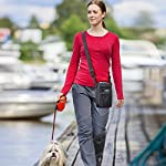 ORIA Dog Treats Bag, Dog Treat Training Pouch with Poop Waste Bag Dispenser, Training Clicker and Collapsible Travel Pet… 14