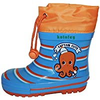Kotofey Boys Wellies Wellington Boots Octopus