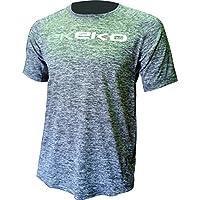 Camiseta running Ekeko Teide Grafito flash, camiseta pro competicion ,atletismo, running, maraton, 21k, competicion (M)