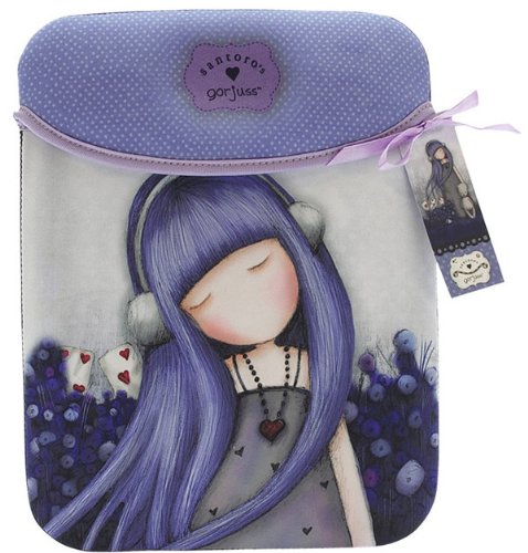 Alice Gorjuss Dear Apple iPad funda blanda Correa