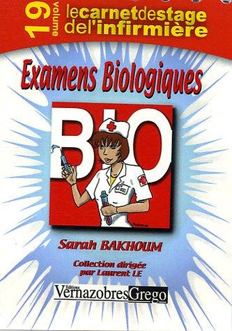 Examens Biologiques par Sarah Bakhoum