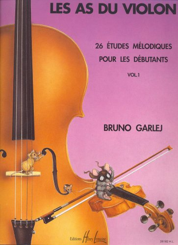 Les As du violon Volume 1 par Bruno Garlej