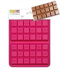ScrapCooking 3147 Set de 2 Tablettes Moules Silicone Rose 25 x 17,5 x 1,5 cm