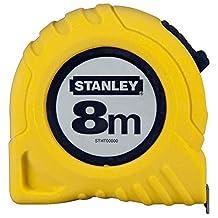 Stanley 1/30/457 Şerit Metre, Sarı/Siyah, 1 Adet