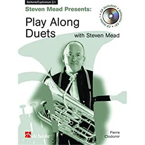 Play Along Duets With Steven Mead - Euphonium. Partitions, CD pour Euphonium, Baryton